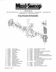 4 hp Honda Schematic